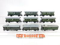CA981-2# 9x Märklin H0/AC Personenwagen etc: 4002 + 4003 + 3294, 2. Wahl/gut