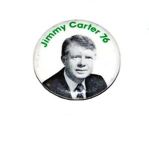 1976 JIMMY CARTER campaign pin pinback button badge political president election