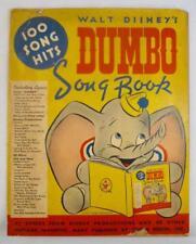 Walt Disneys Dumbo Song Book Vintage 1941 Irving Berlin 100 Tunes (O) AS IS #3