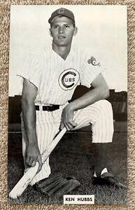 Vintage Chicago Cubs Ken Hubbs J.D. McCarthy Postcard