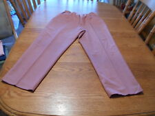 Alfred Dunner 100% Polyester Salmon Women's Pants size 14 NWTs