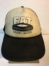 Vintage Fat Wreck Chords Label Vintage SnapBack Hat Lagwagon Punk Cap