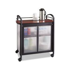 Safco Impromptu Refreshment Cart - 8966Bl
