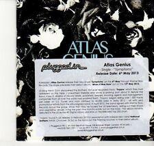 (DN958) Atlas Genius, Symptoms - 2013 DJ CD