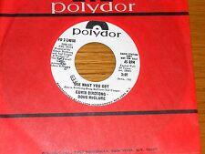 PROMO FUNK/SOUL 45 RPM - EDWIN BIRDSONG & DOUG McCLURE - POLYDOR 14058