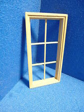 1 /12 scale Dolls House    6 pane Window  DHD20386