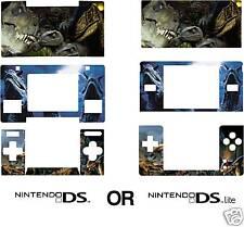 Nintendo DS or DS Lite DINOSAURS Skin / Sticker U.K.