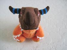 "Bandai Digimon GREYMON 4"" Plush Stuffed Animal"