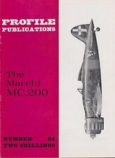 Profile Aircraft No. 64 The Macchi MC.200 (WWII Italian Air Force Fighter)