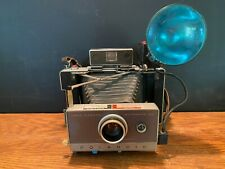 Vintage Polaroid Automatic 100 Land Camera with Flash Model 268 Display Decor