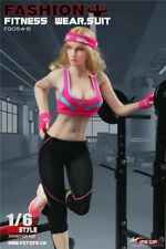 1/6 Phicen, Fire Girl Toys 1/6 Scale Female Aerobic Exercise Outfit Set FG054-B