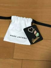 MARC JACOBS Pins Set of 3 Flamingo & Heart & Paradise In Bag New