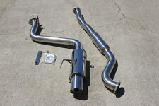 TSUDO 08-14 Subaru WRX / 2011-2014 STi sedan Catback Exhaust (Single Outlet)