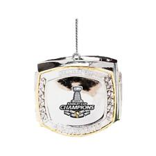 Pittsburgh Penguins 2017 Stanley Cup Champions Ring Ornament NHL