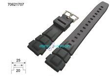 Cinturino in pvc gomma casio compatibile ansa 20mm alt-6000 alt-6000j alt-6100