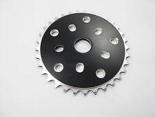 Solide Noir BMX 33 dents CNC Alloy Chainring/Sprocket
