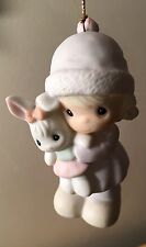 Precious Moments Hanging Figurine Friends Are For Always 1992 S.J.B. 534131