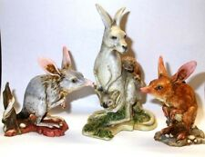 Harmony Kingdom Arts Neil Eyre Designs Bilby sculpture Australia map base upic1