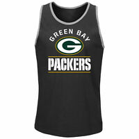 Green Bay Packers Go Far Men's Black Tank Top