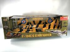 21st - Ultimate Soldier Canadian Air Force F-104C/G StarFighter War Jet 1:18