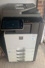 More details for sharp mx5140 multi-functional photocopier printer & scanner.