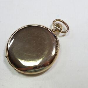 schöne BWC Chronometre Taschenuhr 585 Gold, 3 Deckel, 51 mm, = 77,8 g