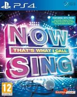 Now That's What I Call Sing PS4 MINT - PAL - GAME ONLY - 1st Class Delivery