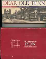 Dear Old Penn in Postcards compiled by Martha & Marshall Ledger (1989,boxed)