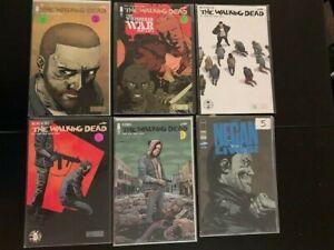 The Walking Dead:- Large Lot / Key Issues  Negan! VF/ NM  Image Comics