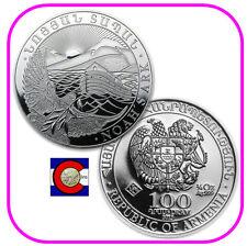 2013 Armenia 1/4 oz Silver 100 Drams Noah's Ark Coin
