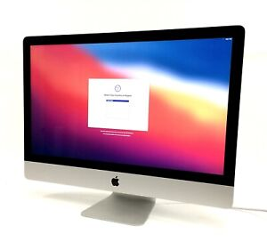 """Apple iMac A1419 All-in-One i7-7700K 4.2GHz 512GB 16GB RAM 27"""" OS X Big Sur"""