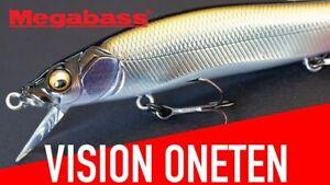 Megabass Vision Oneten / 110 Jerkbaits - Choose Color (INCLUDES JDM COLORS)