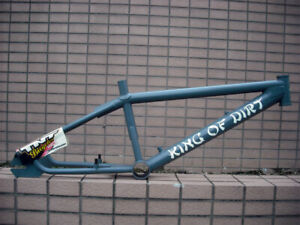 BMX FRAME TNT King Of Dart frame Freestyle frame Vintage BMX MID SCHOOL