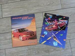 "USA made 1990s vintage MEAD trapper keeper FOLDERS car 12x9.5"" binder"