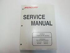 2000 Mercury 210 240 HP M2 Jet Drive Service Repair Shop Workshop Manual NEW