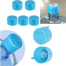 3 & 5 Gal Water Jug Cap Replacement Non Spill Bottle Caps Opener Anti Splash 5x