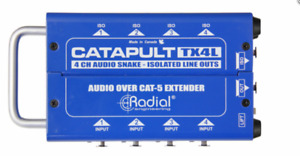Radial Catapult TX4L 4ch transmitter, balanced i/o  BEST OFFER R069