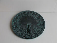 Rome Father Time Sundial 11.5inch Dia #2550