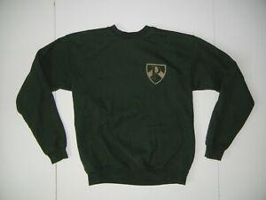 POCOCK ROWING CENTER Green Cotton CREW TEAM SWEATSHIRT Seattle Gym Kid YOUTH XL