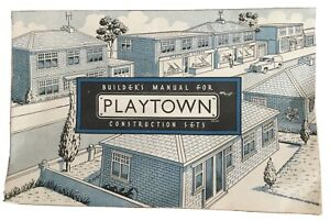 PLASTICVILLE-LITTLETOWN-O&S  PLAYTOWN MADE IN ENGLAND SALES BROCHURE