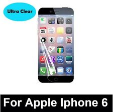 """5 x ULTRA CLEAR INVISIBLE SCREEN GUARD PROTECTORS FOR APPLE IPHONE 6 4.7"""""""