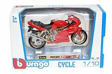 Bburago Cycle 51000 Maquette 1/18 - Rouge