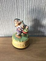 Disney Snow White & 7 Dwarfs Grumpy Musical Figure Plays Spoon Full Of Sugar