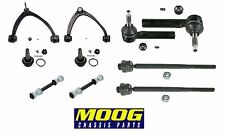 Front Upper & Lower Susp Kit Tie Rods for Chevy Avalanche 5.3 FLEX Crew Cab 4WD
