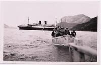 NORVEGE old PHOTOGRAPHY landing in Durdal  year 1933