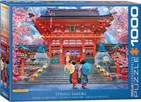 Eurographics Puzzle 1000 Piece Jigsaw Asia House by David Mclean EG60005533