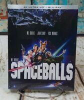 Spaceballs (4K Ultra HD Bluray Slip Cover) Brand New and Sealed!
