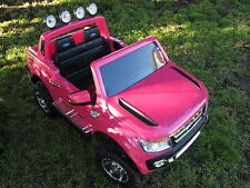 Kids Ride-On Car -LICENCED PINK FORD RANGER WILDTRACK - 12volts 2x35 Watt Motors