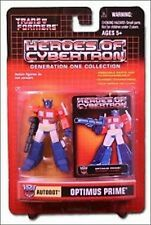 Transformers Heroes of Cybertron Autobot Optimus Prime Action Figure NIB Hasbro
