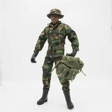 1/6 Scale Accessories Clothes Woodland Back Pack Camo Uniforms set action figure